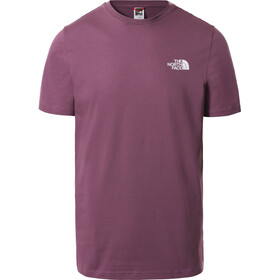 The North Face Simple Dome T-shirt Heren, violet